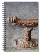 Vintage Iron Work Spiral Notebook