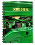Vintage John Deere Tractor Spiral Notebook