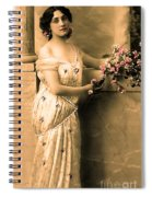 Vintage Lady I  Spiral Notebook