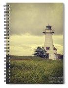 Vintage Lighthouse Pei Spiral Notebook