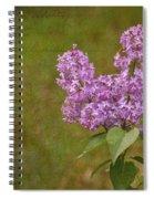 Vintage Lilac Bush Spiral Notebook