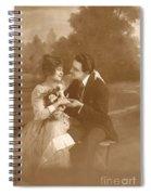 Vintage Lovers Spiral Notebook