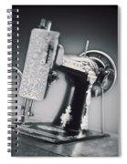 Vintage Machine Spiral Notebook