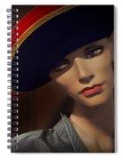 Vintage - Mannequin Spiral Notebook