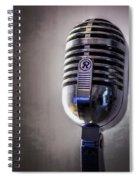 Vintage Microphone 2 Spiral Notebook
