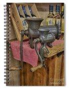 Vintage Mincers Spiral Notebook