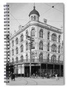 Vintage New Orleans 4 Spiral Notebook