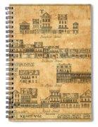 Vintage New Orleans Spiral Notebook