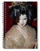 Vintage Nishi Doll Spiral Notebook