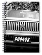 Vintage Nissan Spiral Notebook