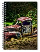 Vintage Old Forty's Pickup Spiral Notebook
