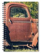 Vintage Old Rusty Truck Spiral Notebook