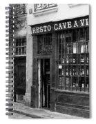 Vintage Paris 13b Spiral Notebook