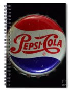 Vintage Pepsi Bottle Cap Spiral Notebook