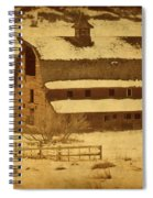 Vintage Perry Park Barn Spiral Notebook