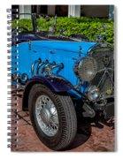 Vintage Peugeot 201 Spiral Notebook