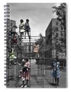 Vintage Playground Spiral Notebook