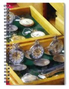 Vintage Pocket Watches For Sale Spiral Notebook