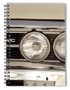 Vintage Pontiac Firebird 1967 Close Up Spiral Notebook