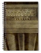 Vintage Radio Spiral Notebook
