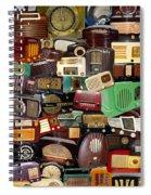 Vintage Radios Spiral Notebook