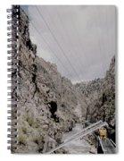 Vintage Rio Grande Royal Gorge By Lynn Bramkamp Spiral Notebook