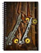 Vintage Roller Skates 5 Spiral Notebook