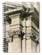 Vintage Rome Spiral Notebook