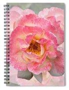 Vintage Rose Square Spiral Notebook