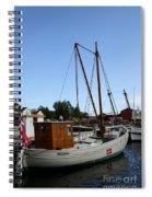 Vintage Sailing Boat - Ct Spiral Notebook