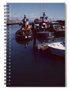 Vintage San Francisco Waterfront Spiral Notebook