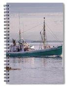 Vintage Sardine Carrier Michael Eileen Spiral Notebook