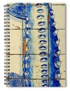 Vintage Seafood Sign 4 Spiral Notebook