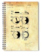 Vintage Self-winding Watch Movement Patent Spiral Notebook