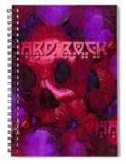 Vintage Skull Art Pop Art 1 Spiral Notebook