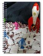 Vintage Space Exploration Spiral Notebook