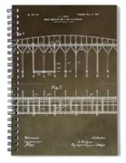 Vintage Starting Gate Patent Spiral Notebook