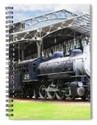 Vintage Steam Locomotive 5d29281 V2 Spiral Notebook