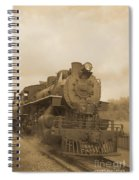 Vintage Steam Locomotive Spiral Notebook