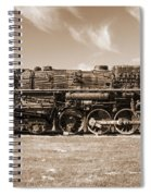Vintage Steam Locomotive Spiral Notebook