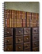 Vintage Storage Spiral Notebook