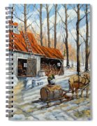 Vintage Sugar Shack By Prankearts Spiral Notebook