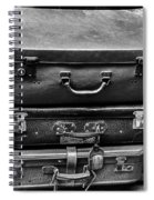 Vintage Suitcases Spiral Notebook