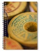 Vintage Thread Spiral Notebook