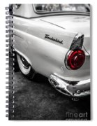 Vintage Ford Thunderbird Spiral Notebook