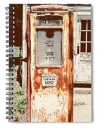 Vintage Tokheim Gas Pump Spiral Notebook