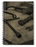 Vintage Tools Spiral Notebook