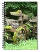 Vintage Tractor Spiral Notebook