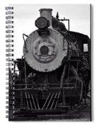 Vintage Train 90 Spiral Notebook
