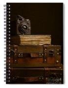 Vintage Travel Spiral Notebook